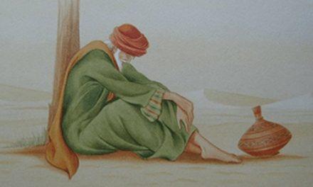 """Al-Majnun, Sufi Nyeleneh Yang Memakai Pakaian Robek Bertuliskan """"Tidak Diperjual Belikan"""""""