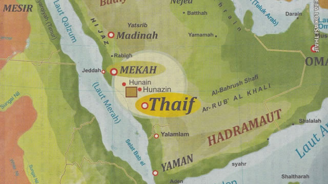 Kisah Nabi Muhammad Hijrah ke Thaif